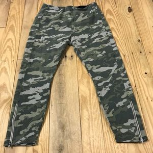 Lysee | SoHo washed canvas camouflage leggings D